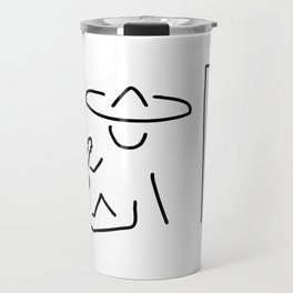 Mexican South America sombrero Travel Mug