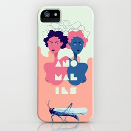 Anamoly iPhone Case