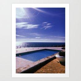 Portuguese vacation Art Print
