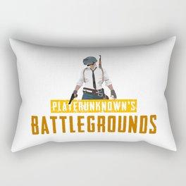 Playerunknowns Battlegrounds Rectangular Pillow