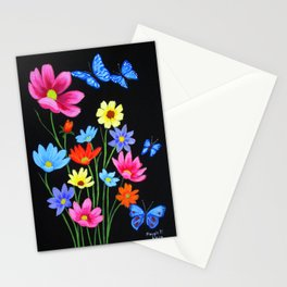 Wildflowers-3 Stationery Cards