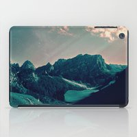 snowboarding iPad Cases featuring Mountain Call by Schwebewesen • Romina Lutz
