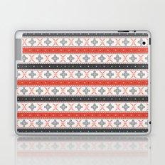 Traditional Romanian embroidery pixel Laptop & iPad Skin