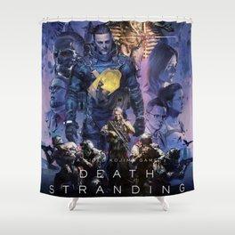 Death Stranding Shower Curtain
