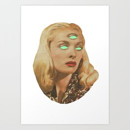 Greta Bungle Art Print