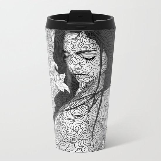 The Creation of Life Metal Travel Mug
