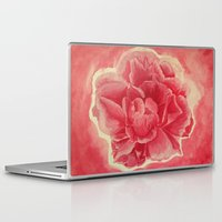 animal skull Laptop & iPad Skins featuring Skull by Megan D'Avella
