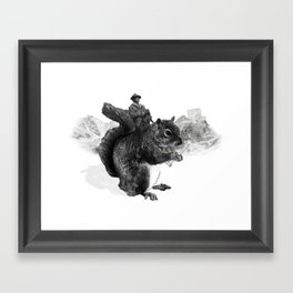 How the West was Won Framed Art Print