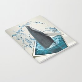 Dancing Whale Notebook