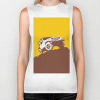 jeep Biker Tanks featuring car jeep by Luciano de Paula Almeida