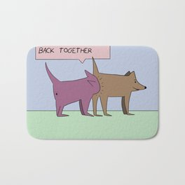 dogs. Bath Mat