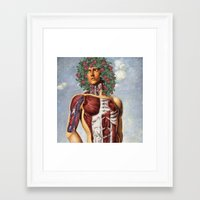 apollo Framed Art Prints featuring Apollo by DIVIDUS