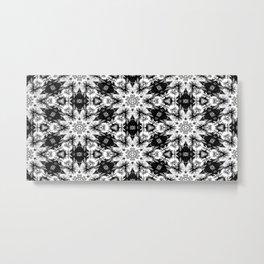Rorschach Test Pattern Metal Print