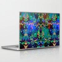 fireworks Laptop & iPad Skins featuring Fireworks by Yaz Raja Designs