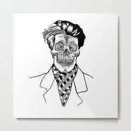 stylish skeleton  Metal Print