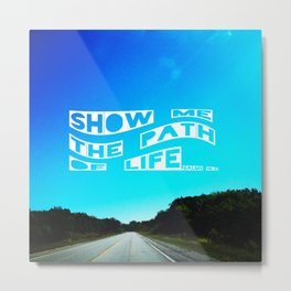 Show me the Path Metal Print