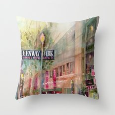 World Series 2013 Fenway Park - Red Sox  Throw Pillow