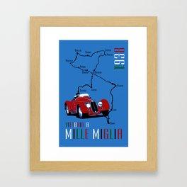 Mille Miglia 1938 Framed Art Print