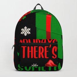 Holidays are joyful Backpack