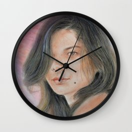 Beautiful and Sexy Actress Jeananne Goossen IV Altered Version Wall Clock