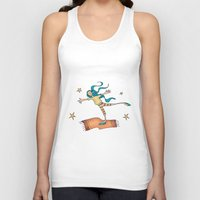 freedom Tank Tops featuring Freedom by Catru