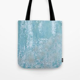 Vintage Galvanized Metal Tote Bag