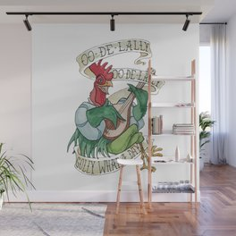 Alan A Dale - Oo de Lally Golly What a Day Roster Wall Mural