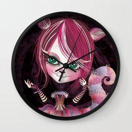 Cheshire Kitty Wall Clock
