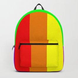 Rainbow flag - Vertical Stripes version Backpack