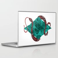 marc Laptop & iPad Skins featuring Mystic Crystal by Hector Mansilla