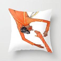 Unwitting Throw Pillow