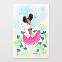 Tia Jump Canvas Print