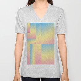 Candyland Gradient #gradient  Unisex V-Neck