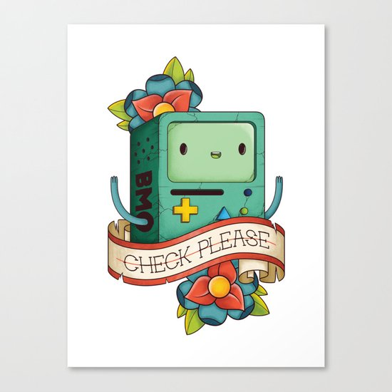 BMO | CHECK PLEASE Canvas Print