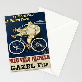 Retro Placard pneu vélo michelin. 1912 Stationery Cards