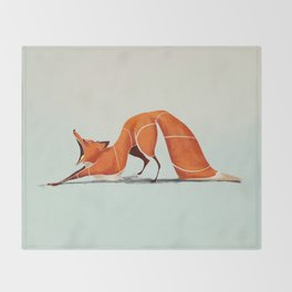 Fox 2 Throw Blanket