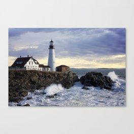 Port Head Lighthouse Maine Canvas Print