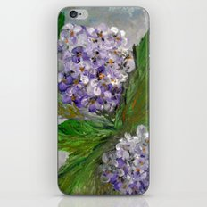 Purple Hydrangea iPhone & iPod Skin