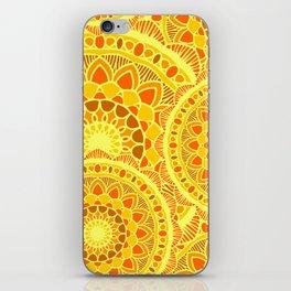 sun flower summer iPhone Skin