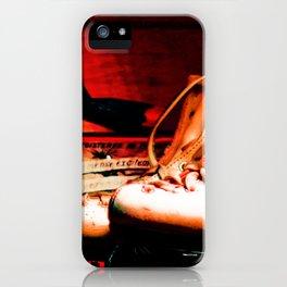 Vintage Skates-Color iPhone Case