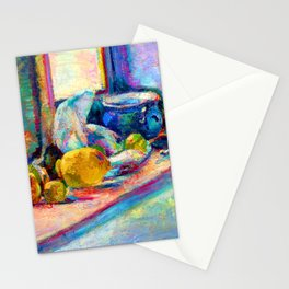 Henri Matisse Blue Pot and Lemon Stationery Cards