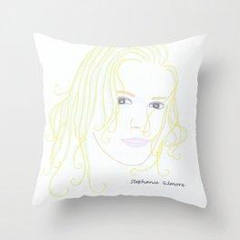 Stephanie Gilmore Throw Pillow