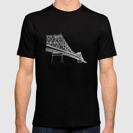 Montreal - Pont Jacques-C - White T-shirt