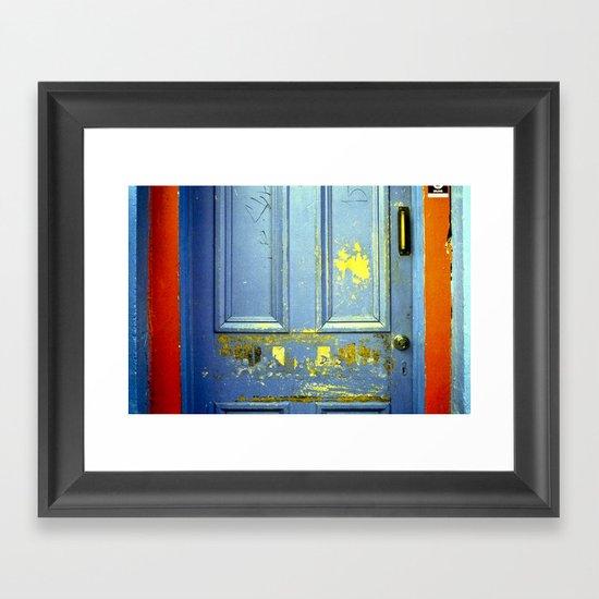 Primary Door Framed Art Print