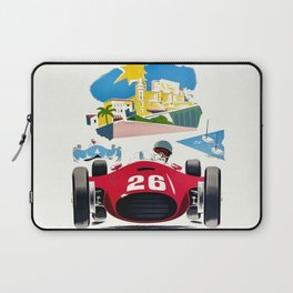 Classic Grand Prix Poster Laptop Sleeve