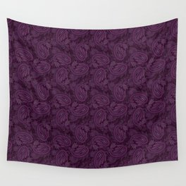 Meredith Paisley - Purple Wall Tapestry