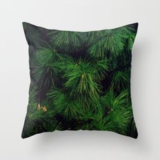 The Stronger the Wind, the Stronger the Tree Throw Pillow