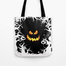 Nightmare Halloween Smile Jack Tote Bag