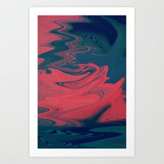 Taffy Art Print