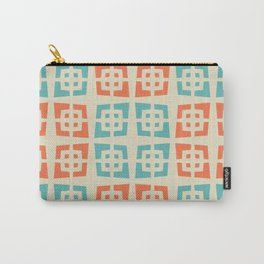 Mid Century Modern Abstract Pattern 821 Carry-All Pouch